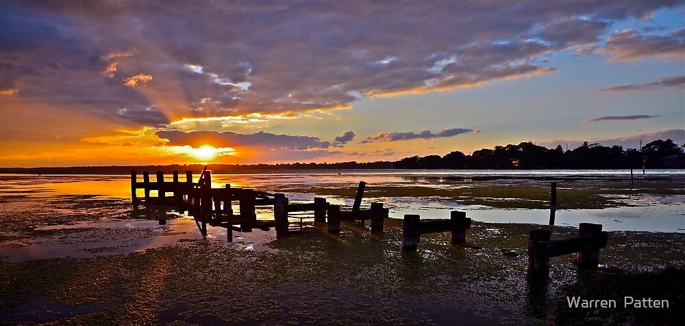 Spring Sunrise..2-9-11. by Warren  Patten