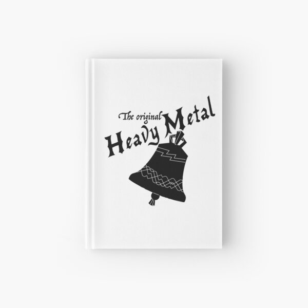 Heavy Metal logo Hardcover Journal