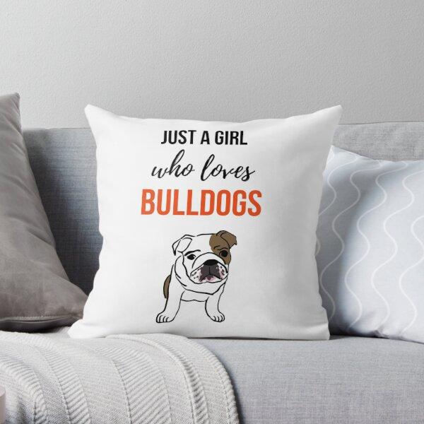 English Bulldog Items Pillows Cushions Redbubble