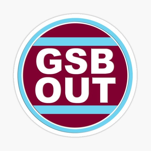 GSB Roundal 3D (on background colour version) Sticker