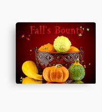Fall's Bounty Canvas Print