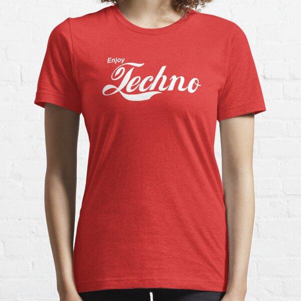 Disfruta Techno Camiseta esencial
