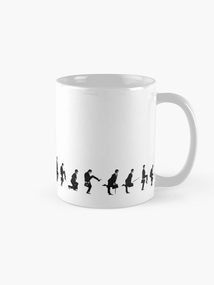 Alternate view of Ministry Of Silly Walks Monty Python Mug Mug