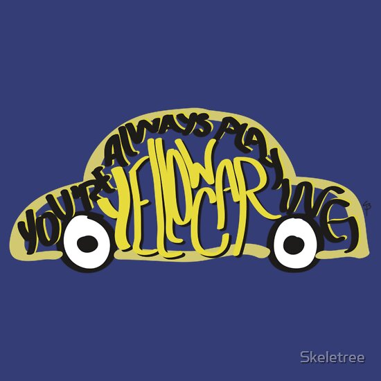 TShirtGifter presents: Yellow Car