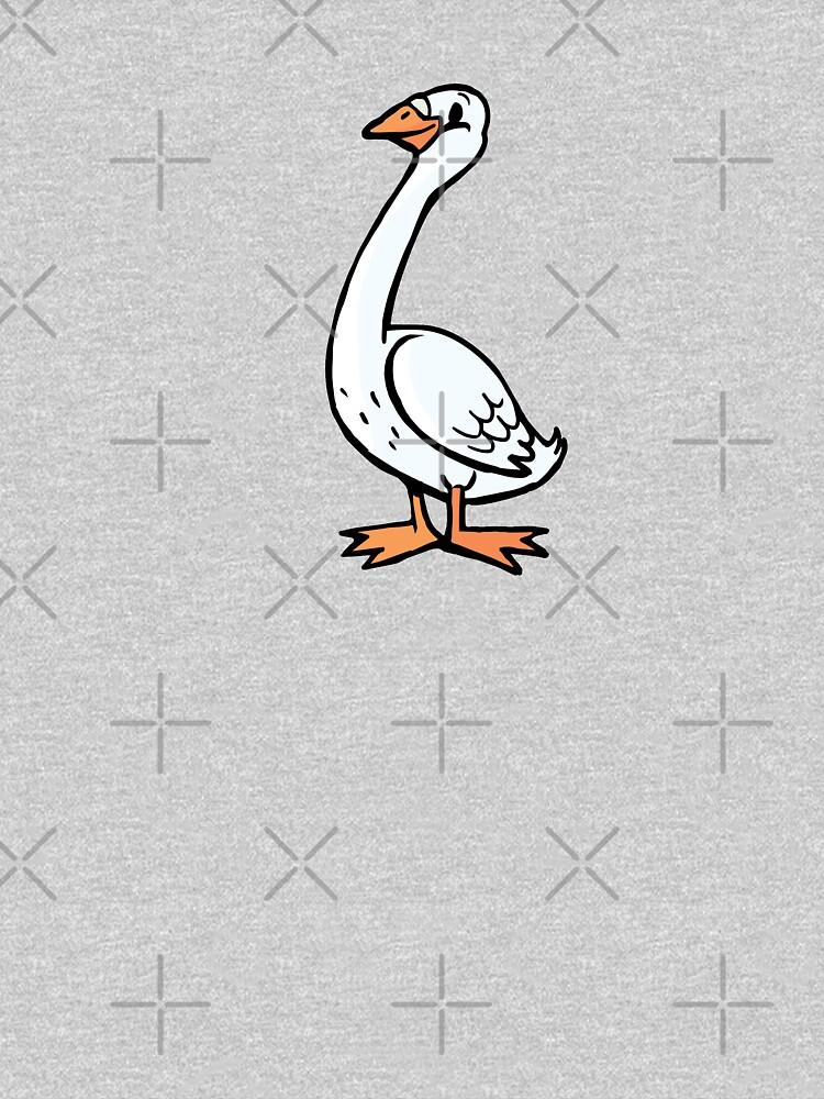 Proud goose by duxpavlic