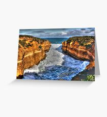 Thunder Cave Greeting Card