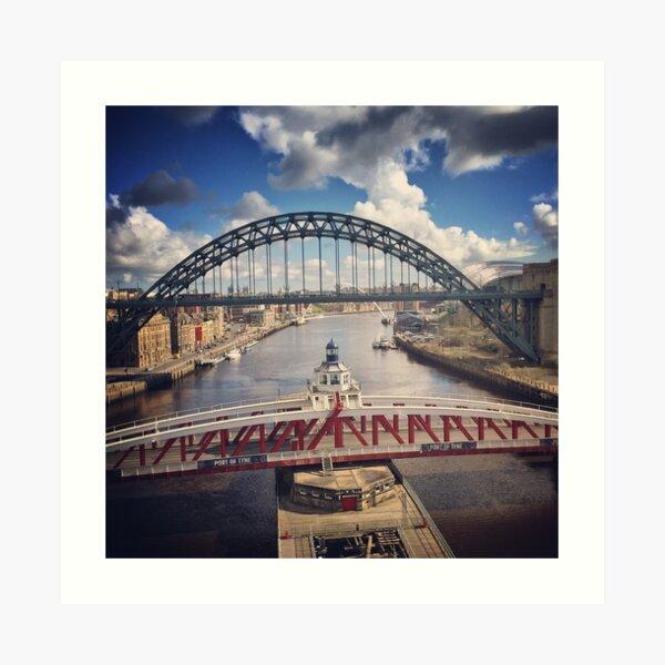 The Bridges of the River Tyne Art Print
