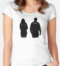 A Writer & His Muse Women's Fitted Scoop T-Shirt