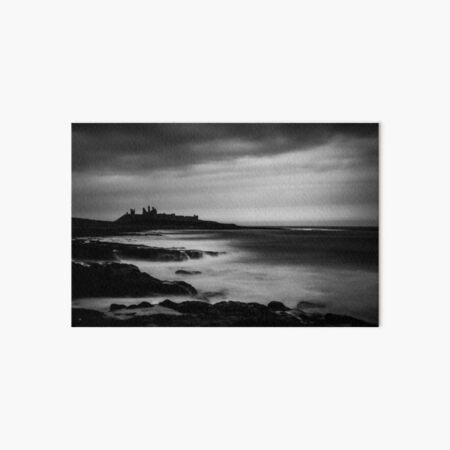 High Tide, Dunstanburgh Castle Art Board Print