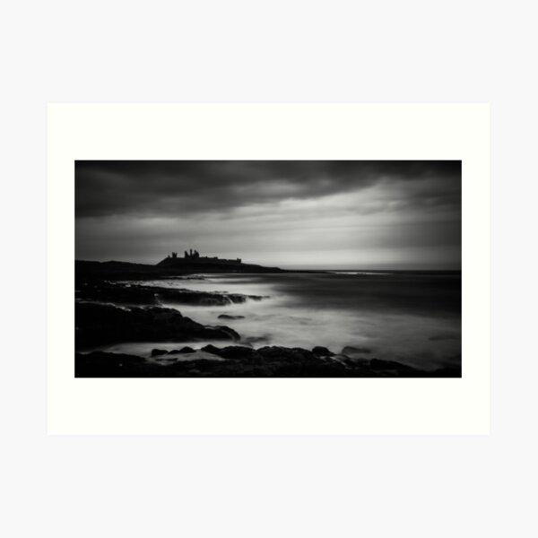 High Tide, Dunstanburgh Castle Art Print