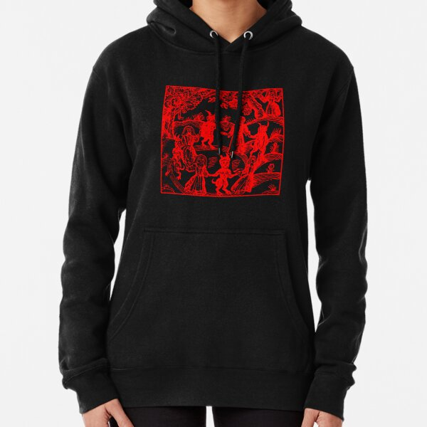 Dance with the Devil RED Pullover Hoodie