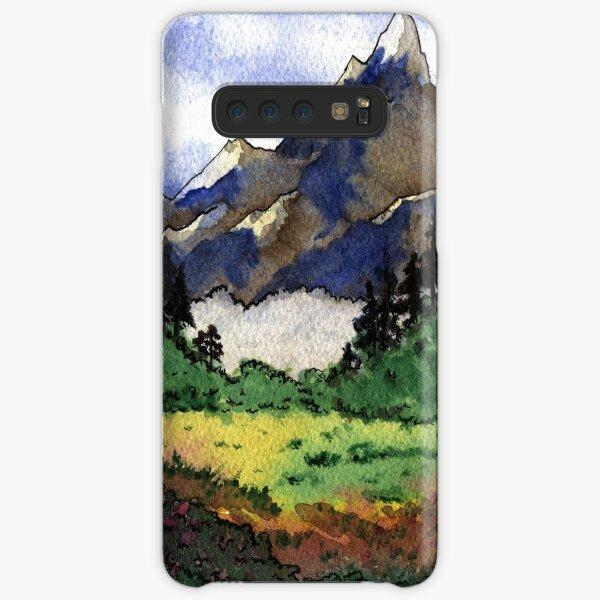 Paysage de montagnes 01 Coque rigide Samsung Galaxy