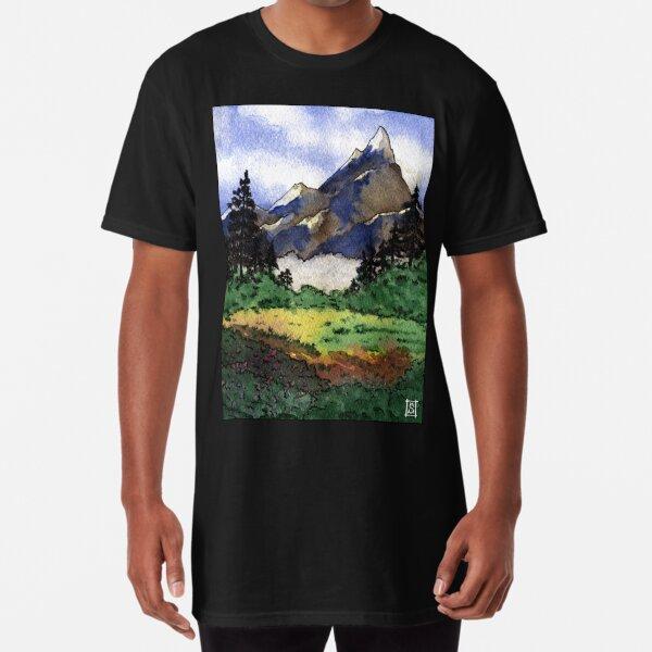 Mountain view 01 Long T-Shirt