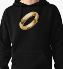 Reptile Ring to Rule Them All Pullover Hoodie