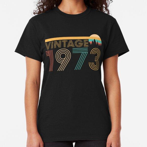date de naissance t-shirt noir, Né en 1973 toutes original parties âgé à la perfection