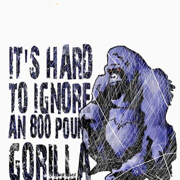 Ignore this gorilla by vadsomhelst