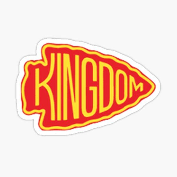 Rotes Königreich Sticker