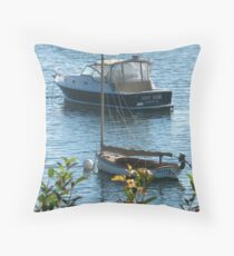 Doggone! Fog Gone! Throw Pillow
