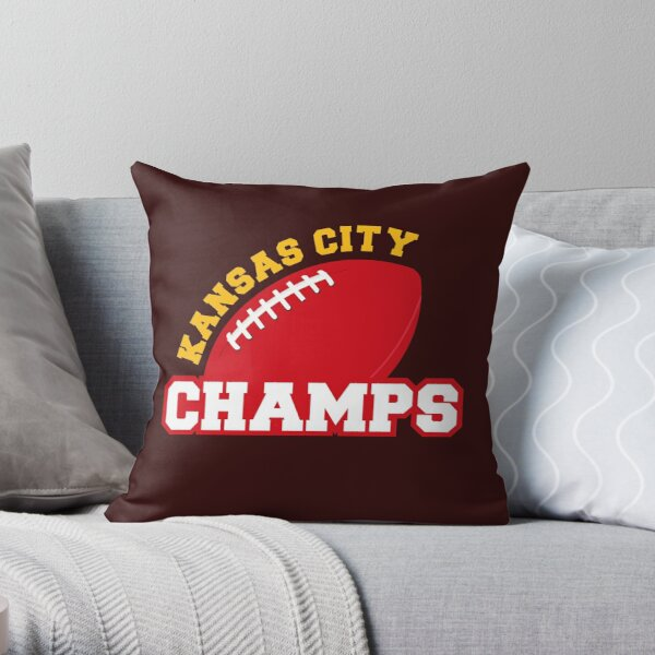 Kansas City Champs Throw Pillow
