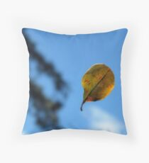 Life in suspence Throw Pillow