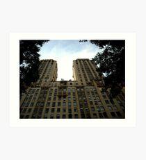 Central Park West Art Print