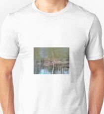 Upsidedown Viginia Pond w/hidden Dog T-Shirt