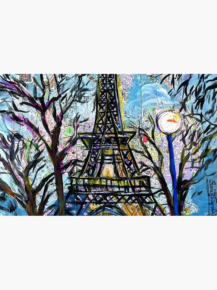 Eiffel Tower by everettsart