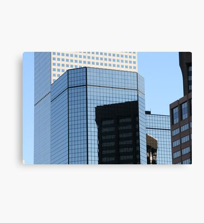 Reflective Denver Canvas Print