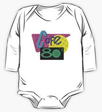 Back To The Cafe 80's One Piece - Long Sleeve