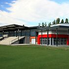 Marcellin Hall, Marist College Canberra by buildings