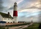 Portland Bill Lighthouse, Dorset, UK. by David Carton
