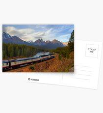 Rocky Mountaineer - Morant's Curve Postcards