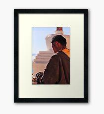Buddhist Framed Print