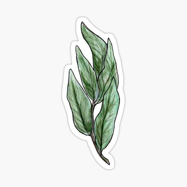 Tea Leaves Sticker