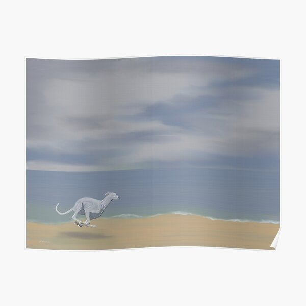 Grey Sea, Greyhound Poster