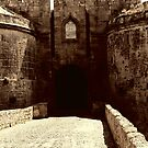 Entering the Medieval - Rhodes Old Town Entrance by George Limitsios