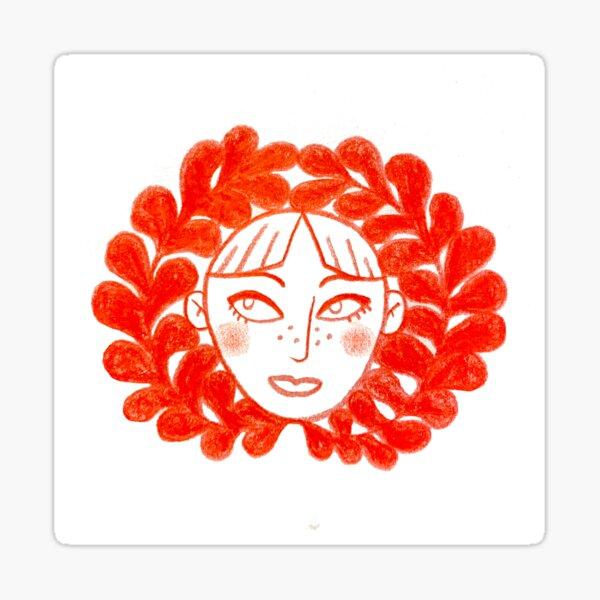 Lovely Lady Sticker