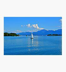 Lake Chiemsee Germany Photographic Print