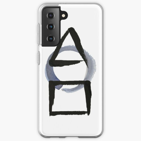 Triangle Circle Square Calligraphy Enso Samsung Galaxy Soft Case