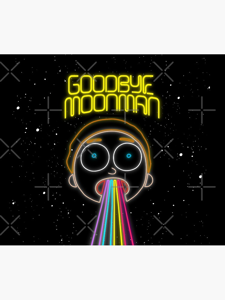 Rick and Morty : Neon (Goodbye Moonman) Morty by mud1017
