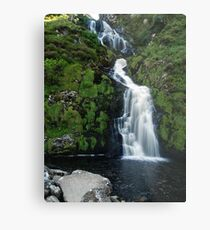 The Assarnacally Waterfall Metal Print