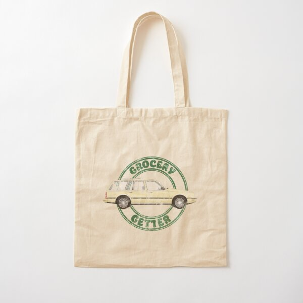 Grocery Getter Cotton Tote Bag