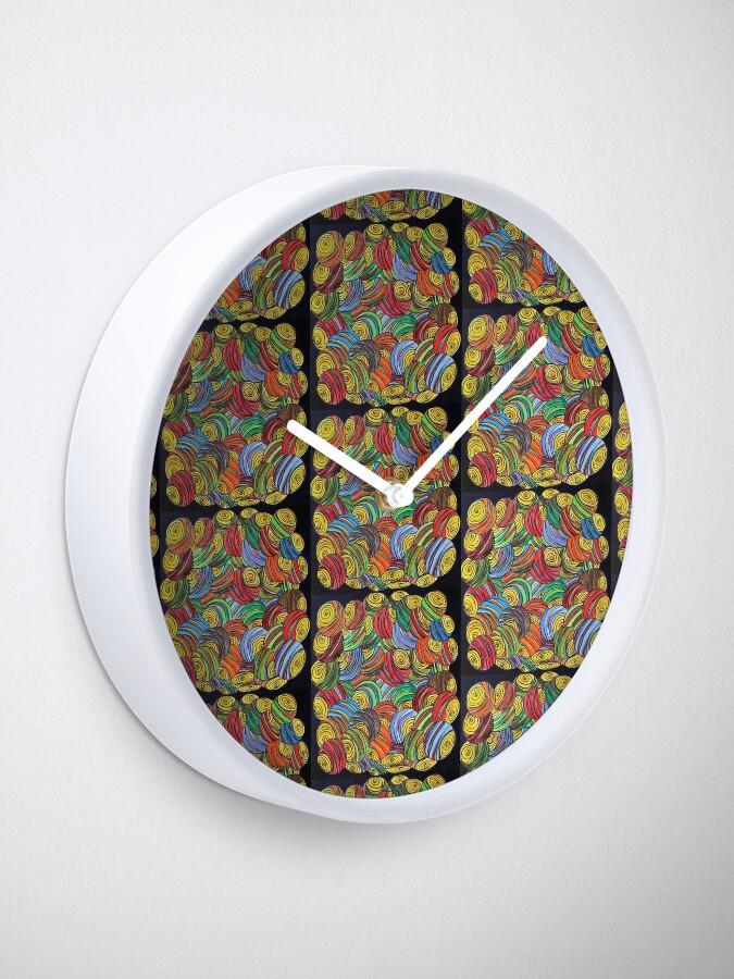 Alternative Ansicht von Energien freigeben Uhr