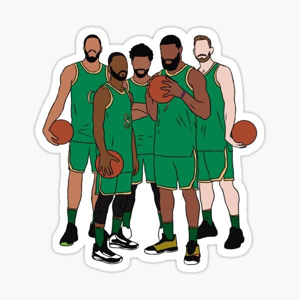 The Shamrock Celtics Sticker