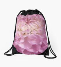 Soft Pink Drawstring Bag