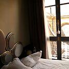 Bedroom-Luman, Paris, France by Jenny Hambleton