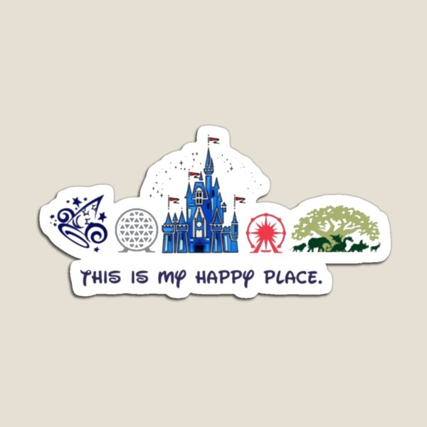 This is my happy place. Magnet