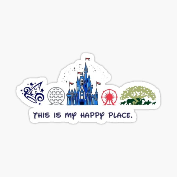 This is my happy place. Sticker