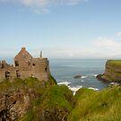 Dunluce Castle, Ireland by Jenny Hambleton