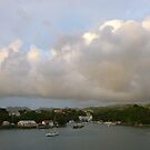 Pink Clouds- St. Lucia by Jenny Hambleton